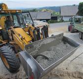 Mešalica / žlica / kašika za beton - utovarivač