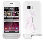 Nokia C5 03 white illuvial pink Sim free