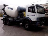 Mikser za beton Mercedes 7m3