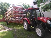 Traktor i samoutovarna prikolica KEMPERICA