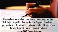 Pisem tuzbe, zalbe i ugovore