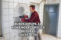 BušenjeRUPA ZA TIPLOVE GARNIŠNE POLICE SLIKE