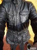 Kožna enduro jakna - Levior XL