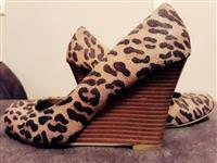 Leopard print cipele
