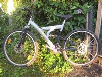 SCORPION bicikl sa dve disk kocnice