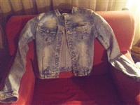 Zenska teksas jaknica