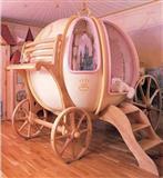 Cinderellas carriage kreveti za decu