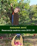 Sadnice voća - hit jesenja cena za 2019