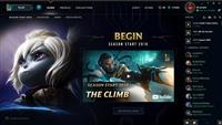 League of Legends account EUNE S1