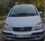2002 Mercedes A 170