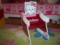 Hello Kitty decija stolica