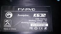 Gaming tastatura MARVO K632