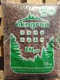 Pelet - visoko kvalitetne drvene granule
