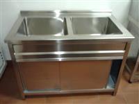 Dupla sudopera - sudopera sa dva bazena - inox