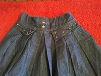 Teksas suknja retro