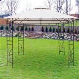 Metalna gazebo tenda Panama sa duplim krovom 3 x 3