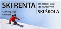 Ski oprema,ski skola na Zlatiboru