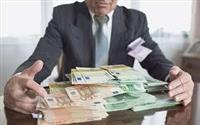 Menschen in finanzieller