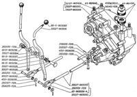 Reduktor (4X4) Gazela 27057-330273