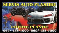 Servis auto/plastike