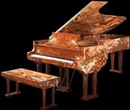 Servis Klavira, Farbanje i Stimovanje Klavira