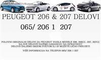 Peugeot auto delovi POLOVNI 206 207 208 308 508