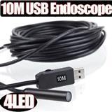 USB endoskop Ø10mm. 10 met.