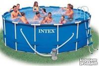 Bazeni Intex Steel Frame 457x122, full oprema