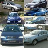 Delovi A3,A4,B5,B6,Golf4,Opel