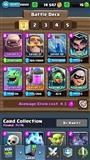 ACCOUNT CLASH ROYALE+COC