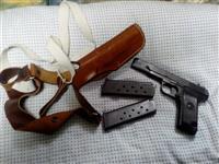 Pistolj m 57 CZ 7.62 mm sa 50 metaka