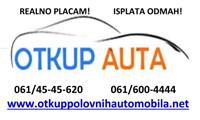 OTKUP AUTOMOBILA OD 100 DO 10000EURA REALNO PLACAM