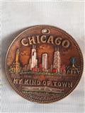 Chicago reljefni tanjir