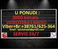 IPTV 3000 KANALA+VIDOTEKA i RADIO!!!