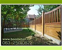 Betonske ograde – proizvodnja i prodaja