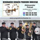 Trubači pogrebni orkestar muzika Pančevo