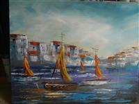 Akademski slikar prodaje svoje slike