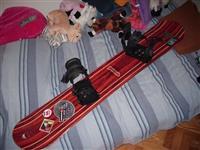 snowboard 'factory' sa vezovima
