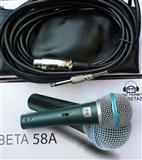 Mikrofonski Set Music Master sa Kablom Beta SM58
