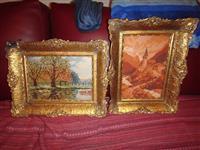 Dva original vilerova goblena