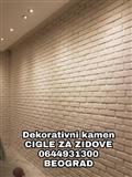 Bele cigle od gipsa za zidove