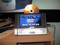 DVD player za kola, prikolicu, sator