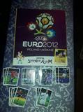 Panini EURO 2012 - KOMPLETNO POPUNJEN ALBUM