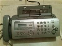 Telefon sekretarica faks Panasonic