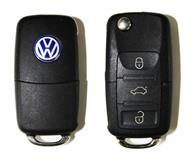 Kuciste kljuca VW sa tri tastera