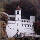 Ulje na platnu - Manastir Ostrog
