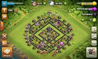 Clash of Clans CoC nalog(account) TH-9,level/lvl 9