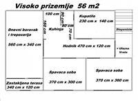 Komforan dvoiposoban stan 56m2 u Smederevo