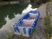 Čamac od plastičnih boca