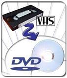 Presnimavanje VHS kaseta na DVD